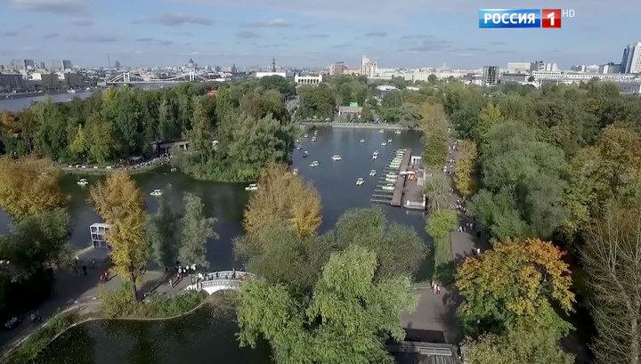 В Москве открыт исторический вход в Парк Горького с Ленинского проспекта