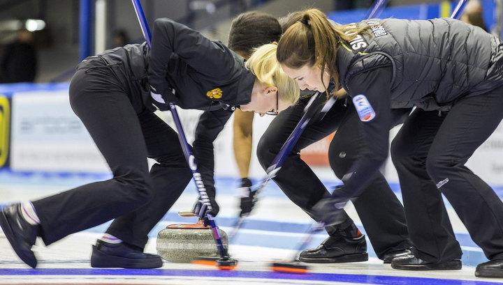 Российские керлингистки обыграли команду Чехии на чемпионате мира