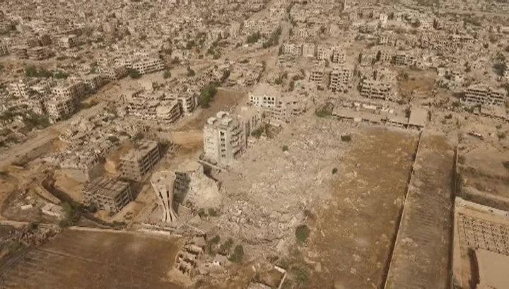 В Сирии террористы обстреляли жилые кварталы Алеппо, три человека погибли