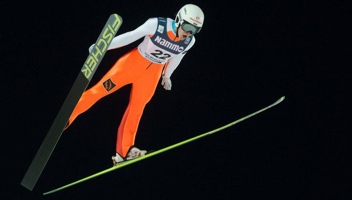Прыжки с трамплина. Ирина Аввакумова заняла третье место на этапе Кубка мира