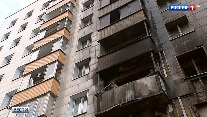 При пожаре на востоке Москвы трое детей спрыгнули с высоты на растянутое одеяло