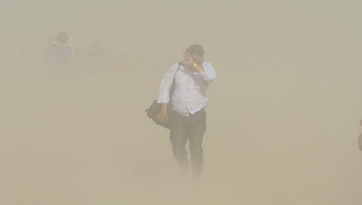 40 человек стали жертвами пыльной бури и грозы в Индии