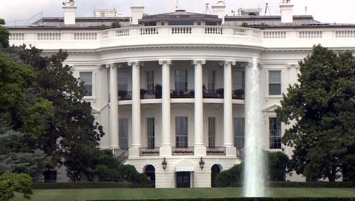 На территорию Белого дома пыталась прорваться вооруженная женщина