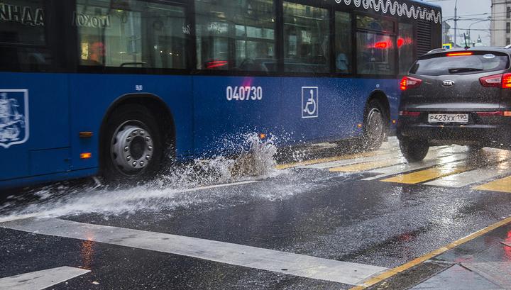 Шквал, ливни, град: Москву накроет атлантический циклон