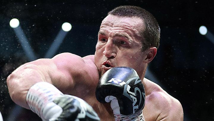 У боксера Дениса Лебедева родился сын