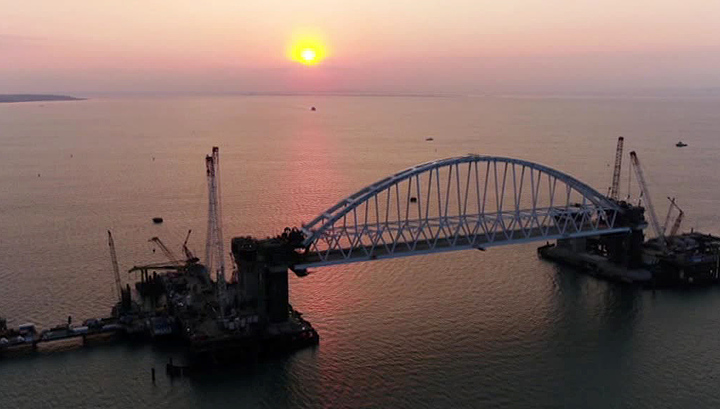 Корректировка железнодорожных подходов не скажется на сроках ввода Крымского моста