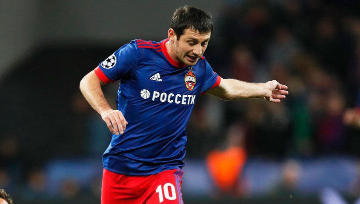Гол Дзагоева вывел ЦСКА в следующий раунд Лиги Европы