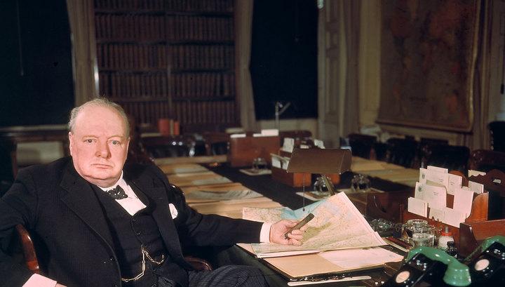 В Англии продается окурок сигары Черчилля