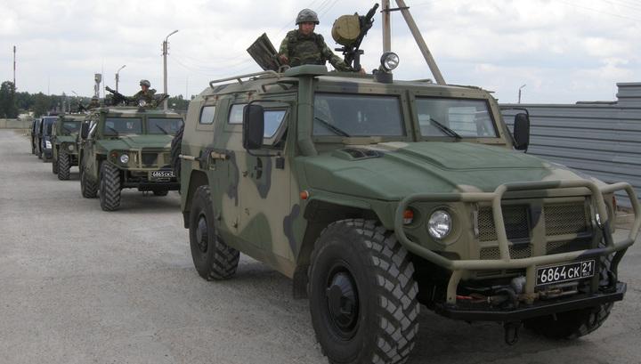 """В Сирии военная машина США блокировала проезд российскому """"Тигру"""""""