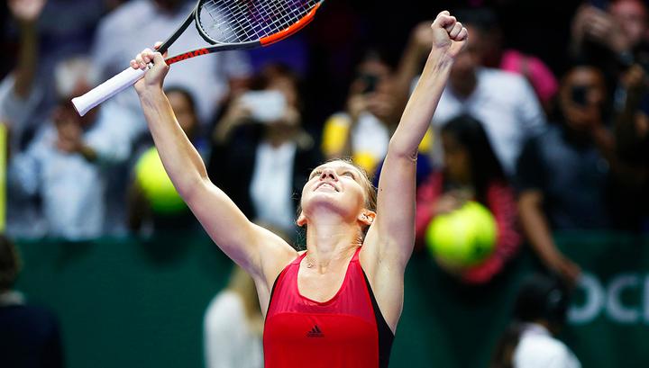 Халеп стала последней участницей полуфиналов Australian Open