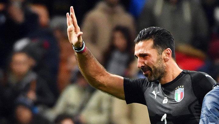 Буффон назвал Астори одной из причин возвращения в сборную Италии