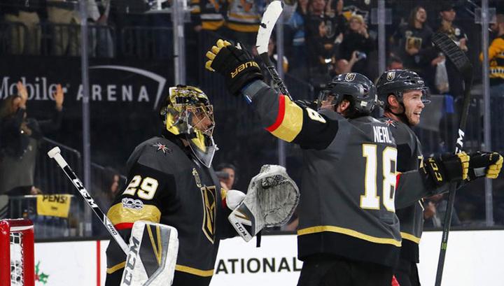 """НХЛ. """"Вегас"""" побил очередные рекорды для команд-дебютантов"""