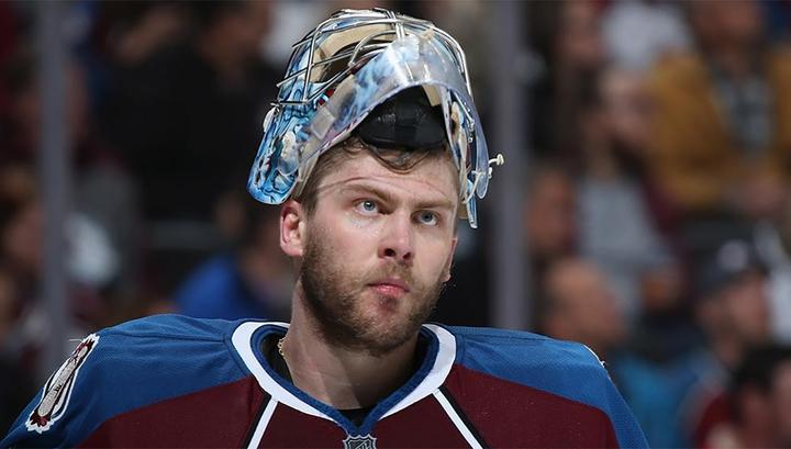 """Семен Варламов не спас """"Колорадо"""" от поражения в матче НХЛ"""