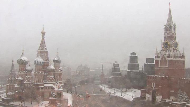 В Москву придет небольшое потепление