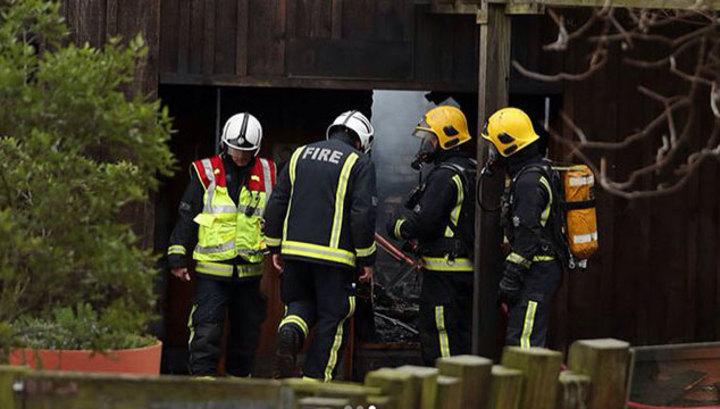 Пожар в лондонском зоопарке: пострадали девять посетителей