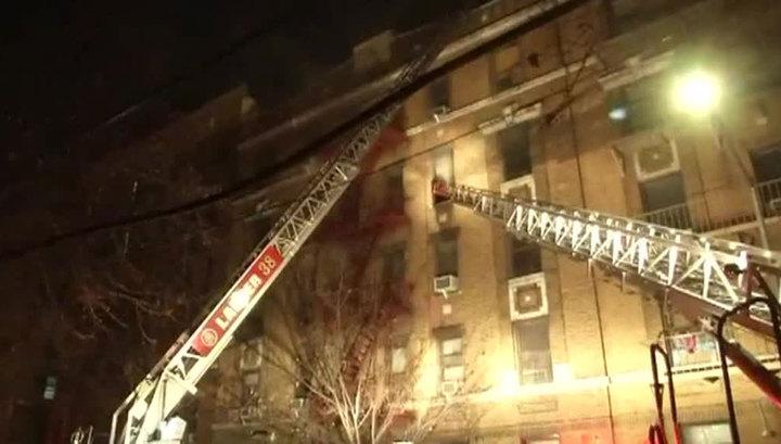 Жертвами пожара в Бронксе стали не менее 9 человек