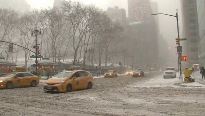 Снежный шторм: власти Нью-Йорка ввели чрезвычайное положение