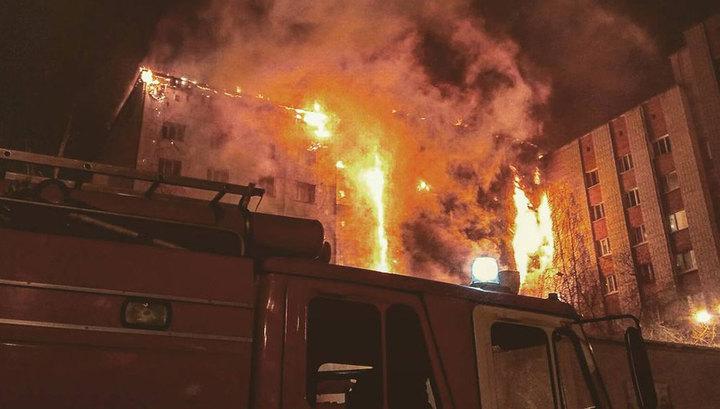 Пожар в тюменской девятиэтажке: не обошлось без жертв
