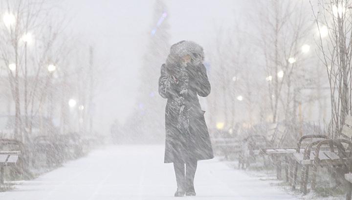 Из Скандинавии на Москву идут снег и мороз