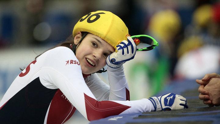 Россиянка Просвирнова завоевала серебро на чемпионате мира по шорт-треку