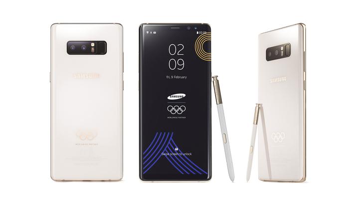 "Samsung разработала ""олимпийскую"" версию Galaxy Note 8"