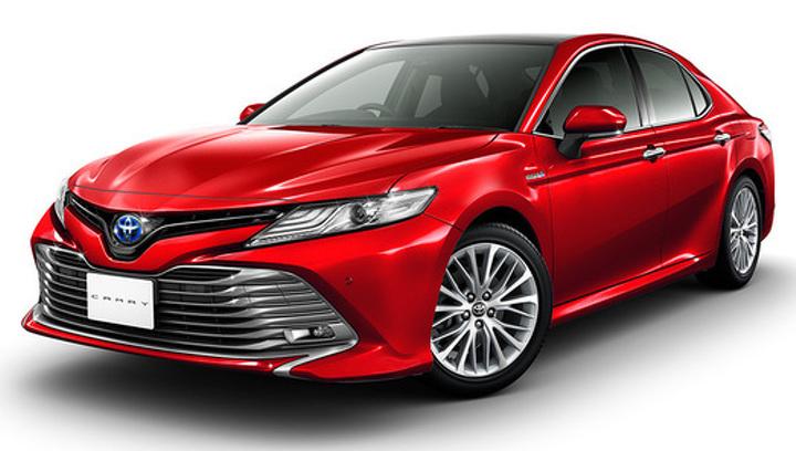 Названы двигатели для новой Toyota Camry в России