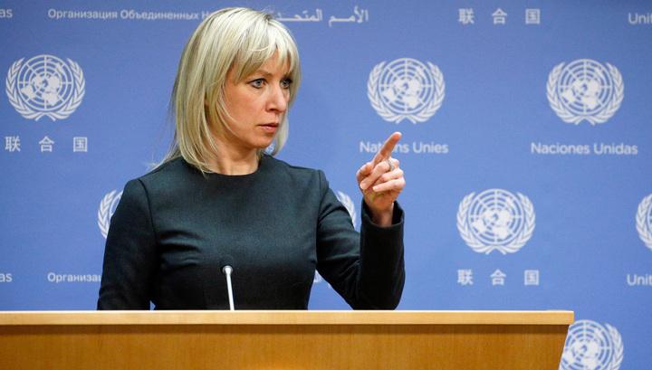 Захарова: Бабченко - жертва, ведь СБУ сделала из него всемирное посмешище