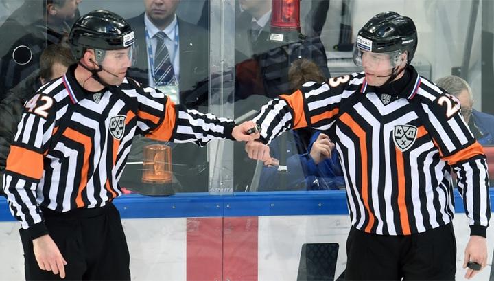 Четыре российских арбитра обслужат матчи чемпионата мира по хоккею