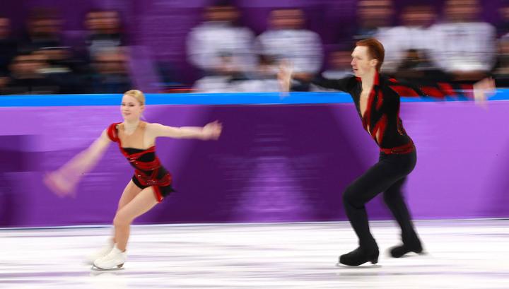 Фигуристы Тарасова и Морозов идут вторыми после короткой программы