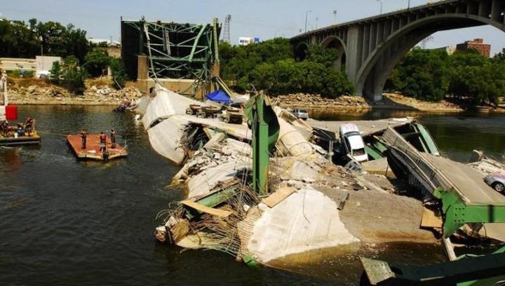 50000 мостов в США на грани разрушения