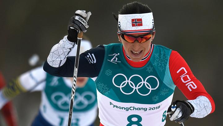 Норвежка Бьорген обогнала Сметанину по числу олимпийских наград