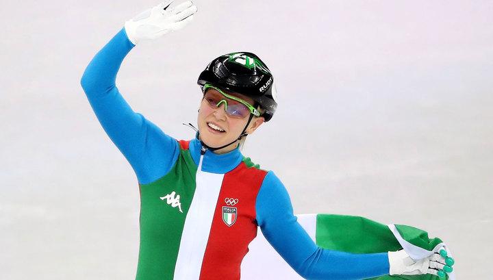 Шорт-трекистка Фонтана завоевала золото на дистанции 500 метров