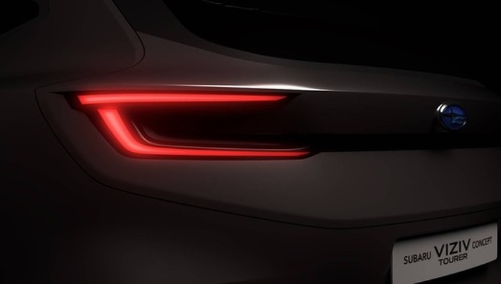 Subaru покажет в Женеве новый универсал