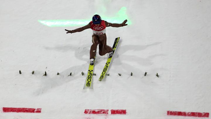 Поляк Стох стал чемпионом Олимпиады по прыжкам с трамплина