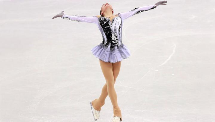 Загитова с мировым рекордом выиграла короткую программу, Медведева - вторая
