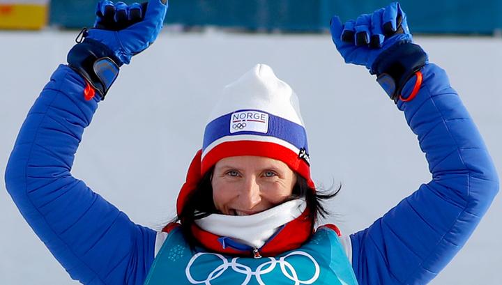 Бьорген обошла Бьорндалена по числу олимпийских наград