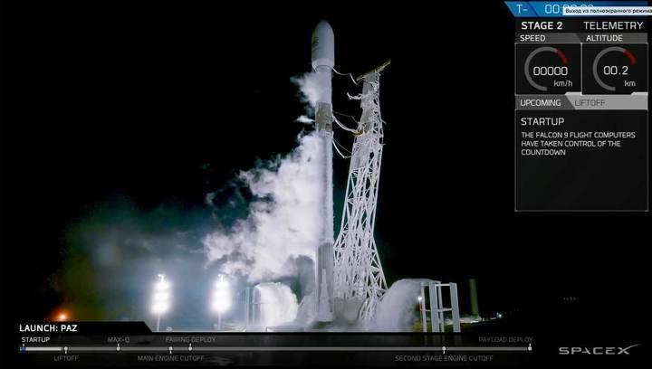 """SpaceX Илона Маска запустила первые спутники для """"интернета из космоса"""""""
