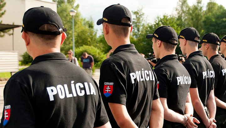 В Словакии автомобиль въехал в группу детей