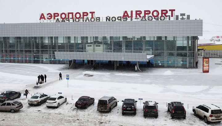 Из-за сильной метели аэропорт Волгограда не принимает самолеты