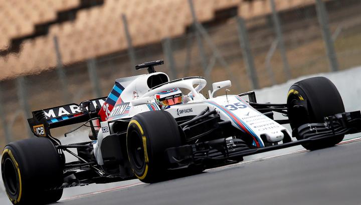 Сироткин провел первые предсезонные тесты за Williams