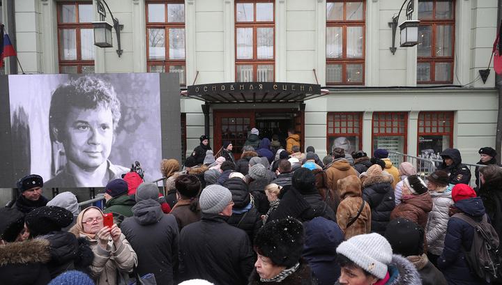 Москва пять часов прощалась с Олегом Табаковым