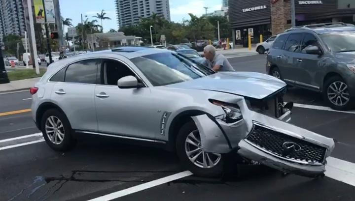 Русскоговорящий водитель под наркотиками посеял хаос на дороге в Майами