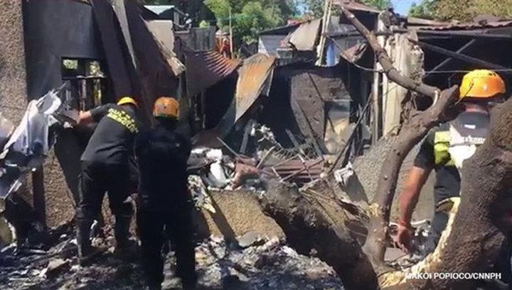 На Филиппинах рухнул самолет: погибли шесть пассажиров и пилот