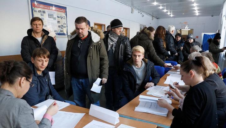 Явка в Москве на 6% выше, чем в прошлые президентские выборы