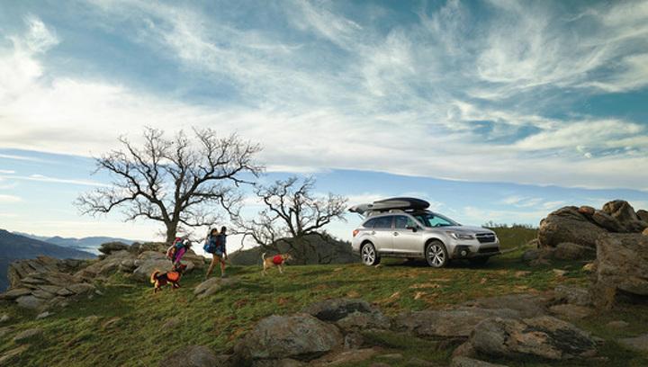 Subaru назвала рублевые цены на обновленный универсал Outback