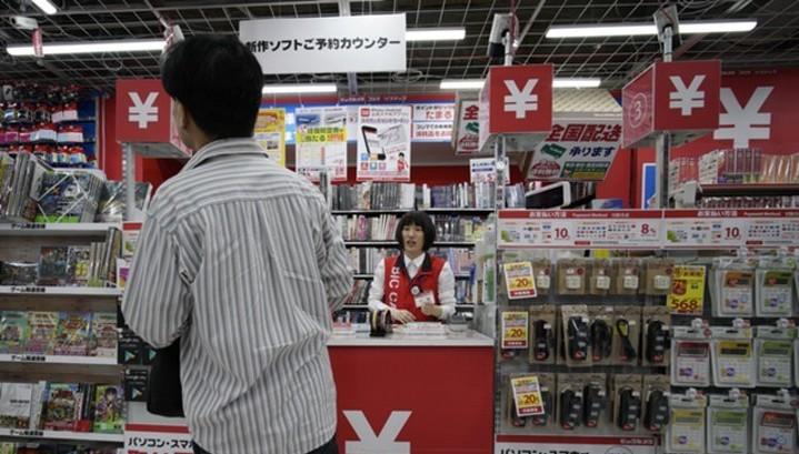 Инфляция в Японии ускорилась в феврале до 1%