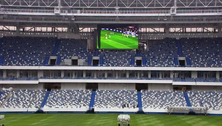 Семь стадионов России претендуют на звание лучшей арены 2018 года