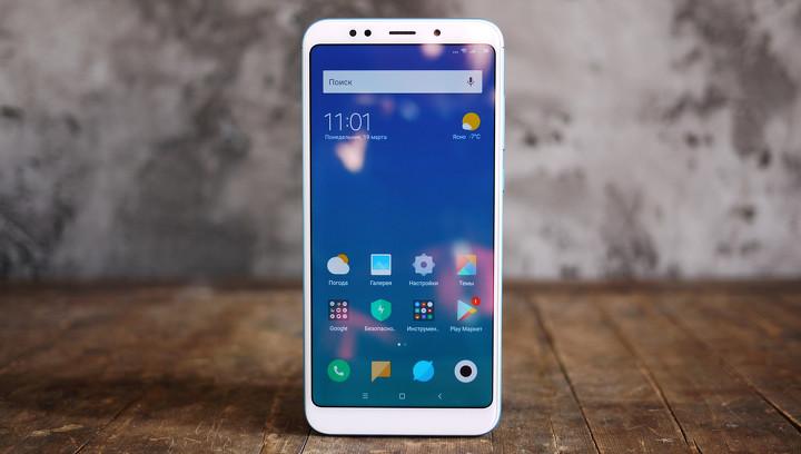 """Обзор смартфона Xiaomi Redmi 5 Plus: бюджетник в """"высоком"""" стиле"""