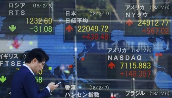 Рынки акций Азии растут вслед за Уолл-стрит