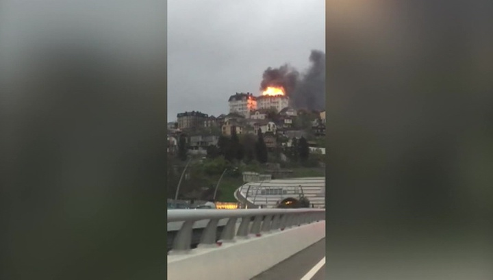 В Сочи потушили пожар в жилом доме
